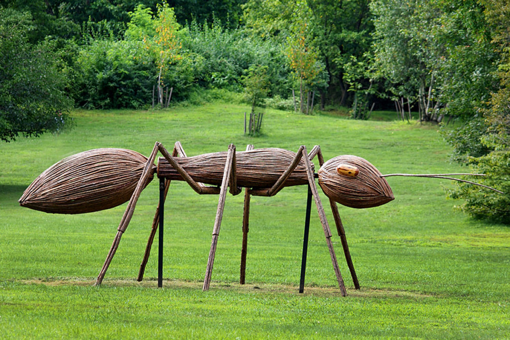 Giant ant sculpture
