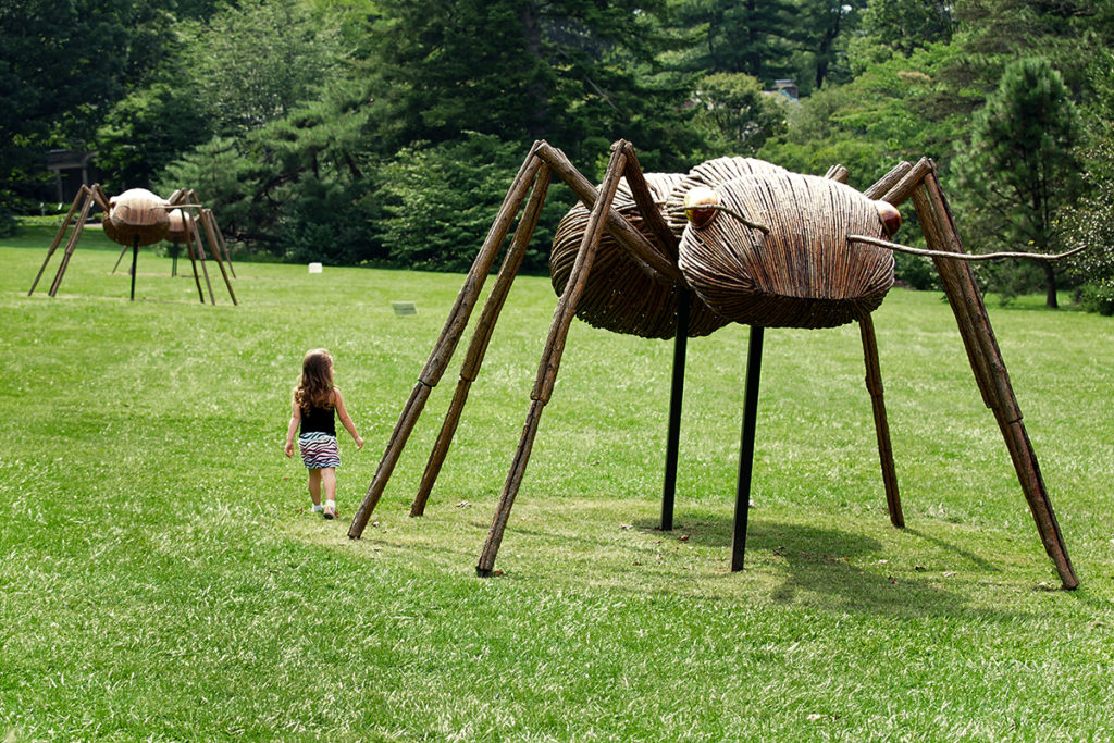 Second giant ant sculpture