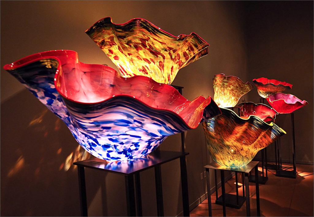 Macchia bowl sculptures