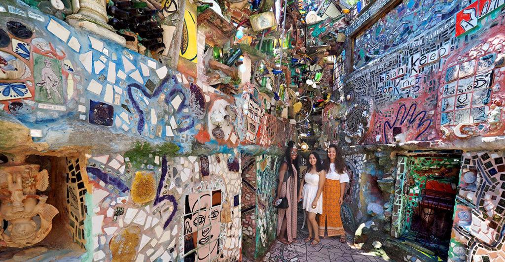 Philadelphia Magic Gardens, Safa Browne, Tania Calle, Zara Wermers