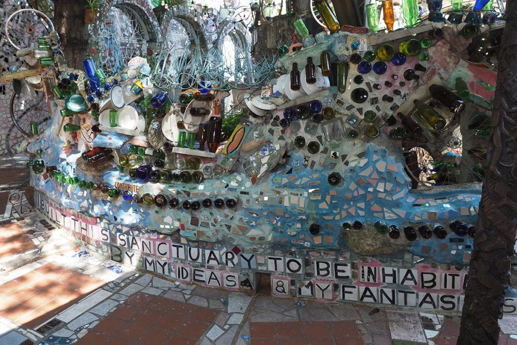 Architectural mosaics at Philadelphia's Magic Gardens