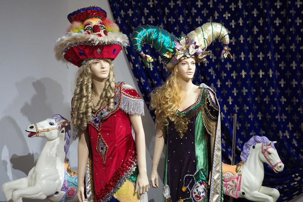 Wonderfully weird headgear from the Mardi Gras parade