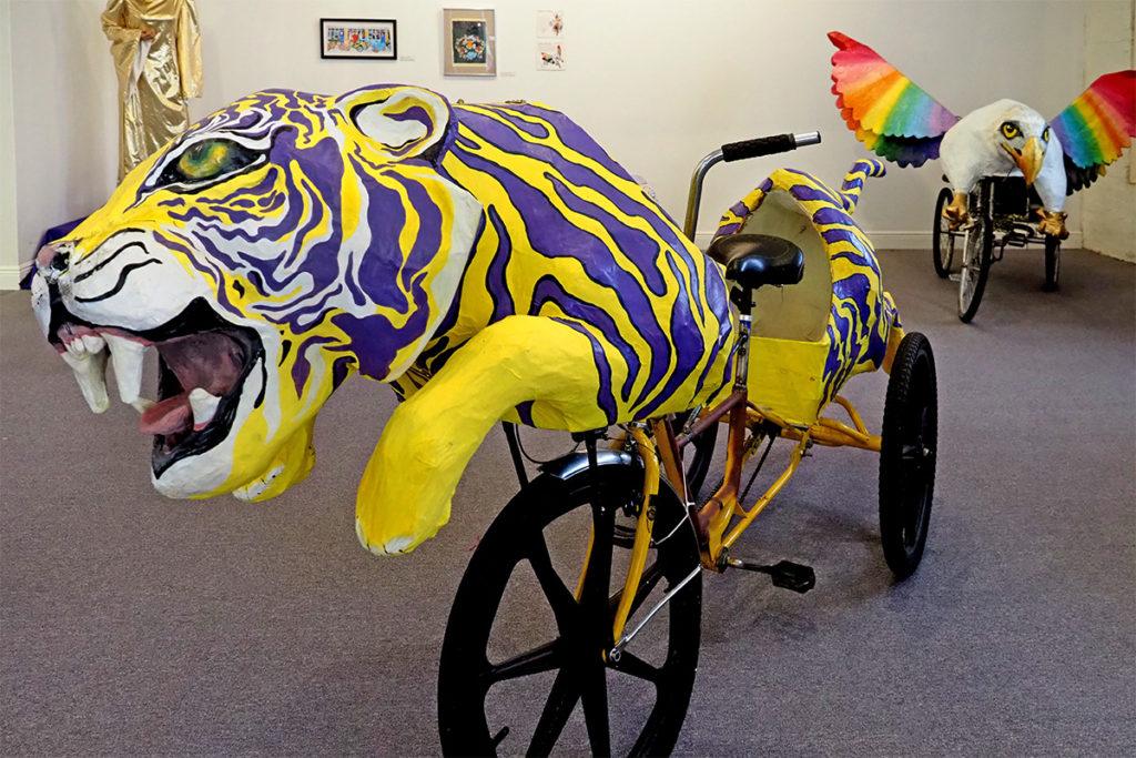 Toussaint the Mardi Gras Tiger