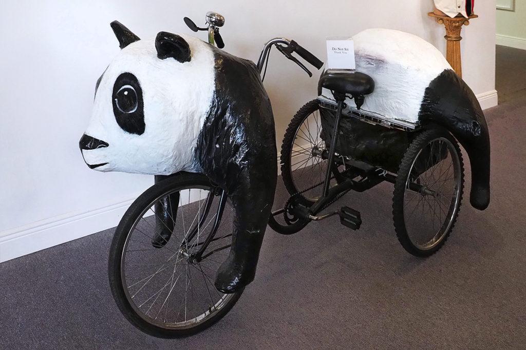 a Panda Bear bicycle
