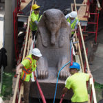 Moving Penn's 13-Ton Sphinx