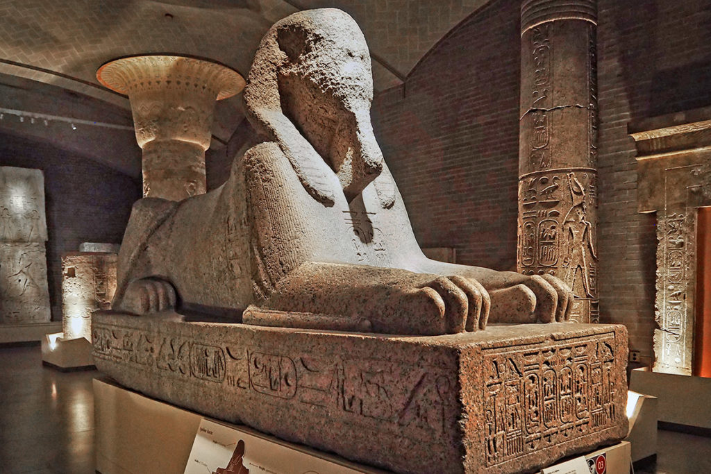 After sitting in its gallery space for a century, the Penn Sphinx is on the move to another part of the complex.