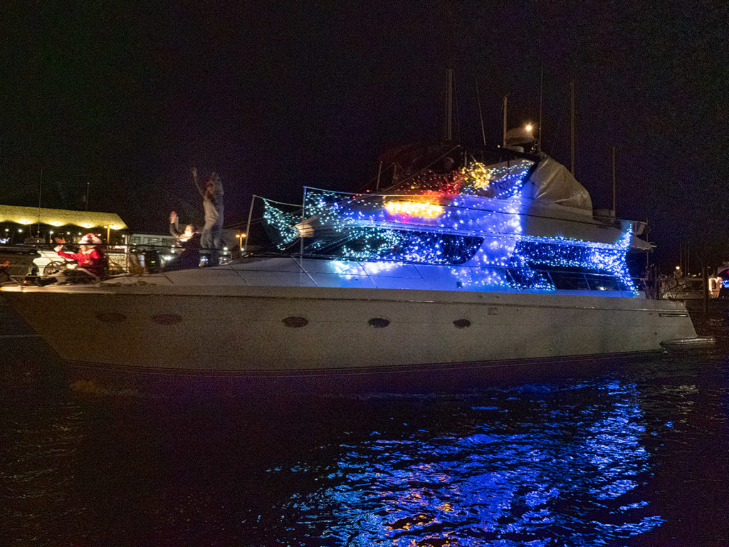 Eastport Yacht Club Lights Parade 2019