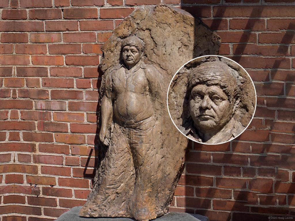 Refugee from El Salvador is a sculpture by Joe Brenman.