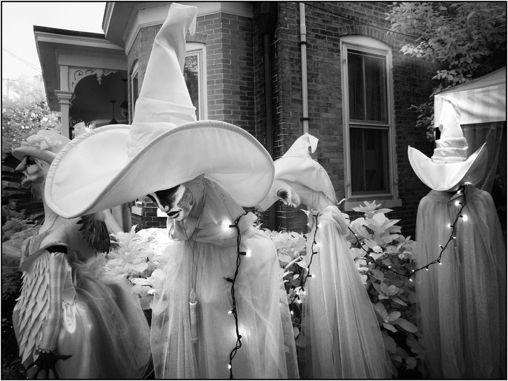 Parade of witches in Lambertville, NJ